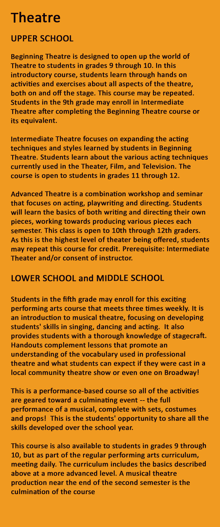Brentwood College of Asia International School - Theatre